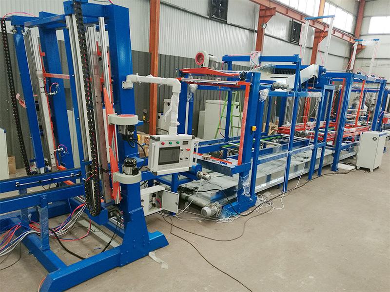 俄罗斯客户设备:EPS切割线工厂摆线试机