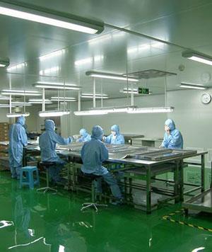 食品化妆品厂净化车间工程