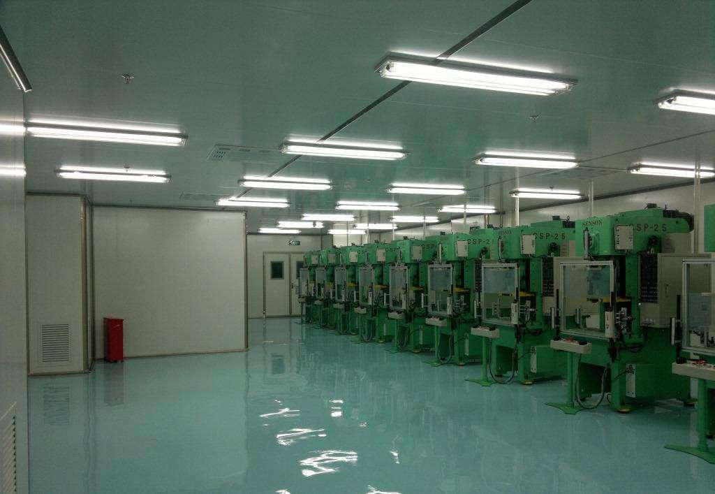 机械厂净化车间工程