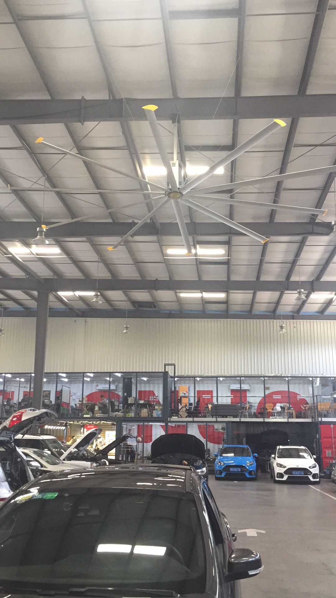 6.7m22ft10叶工业风扇