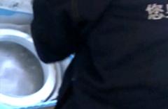 2018年10月10日-白师傅在华侨城为客户清洗洗衣机