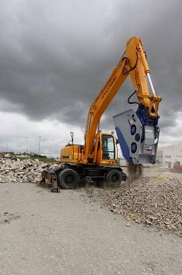 挖掘机的结构组成