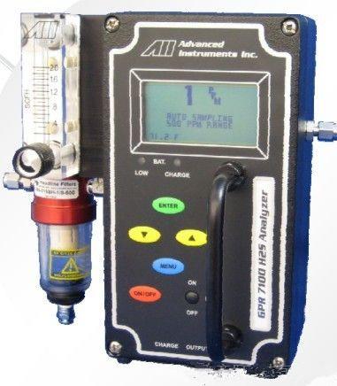 美国AII便携式硫化氢分析仪 GPR-7100
