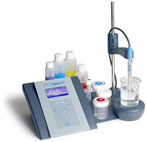 HACH哈希sensION+系列电化学电极测定仪台式PH测定仪PH31