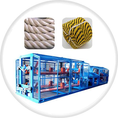 M系列二合一塑料制绳机