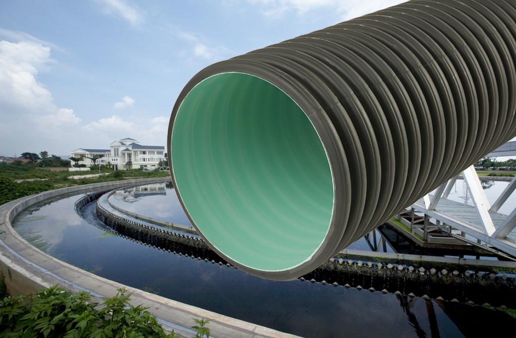 ①、埋地排水用聚乙烯(PE)双壁波纹管