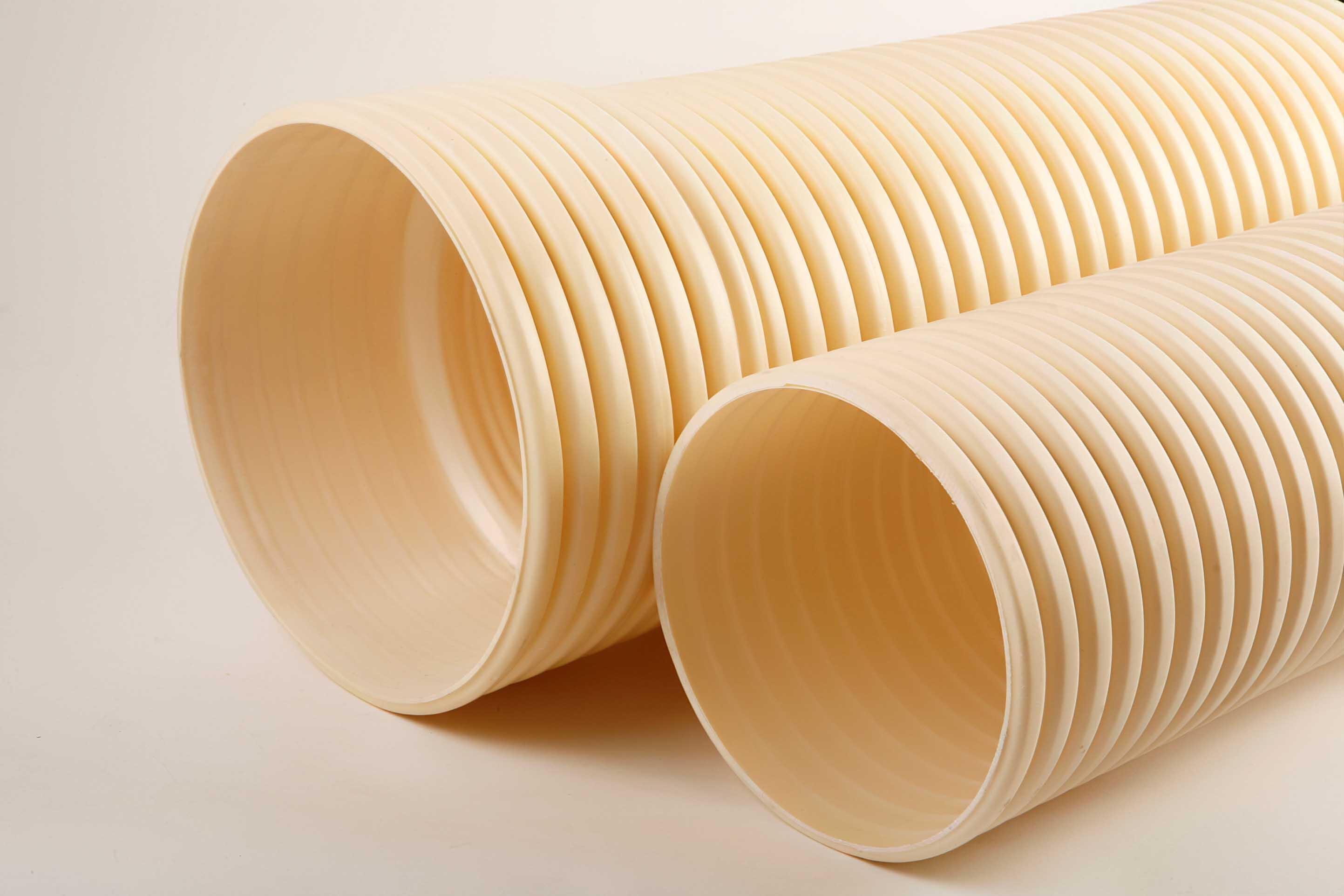 ②、埋地排水用硬聚氯乙烯(PVC-U)双壁波纹管