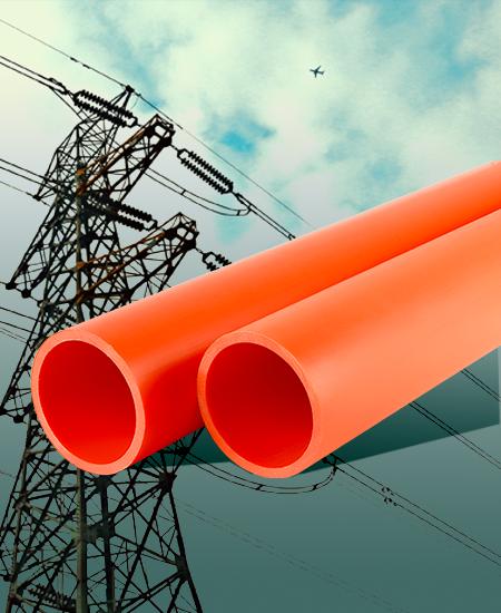 ①、非开挖电力电缆用改性聚丙烯(MPP)套管