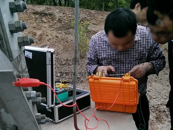 DF900手持充电式变频抗干扰接地阻抗测量仪接地电阻测量