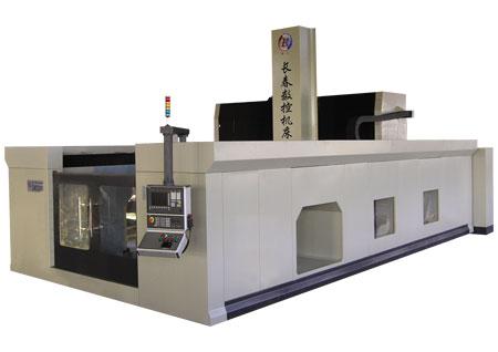XK25型横梁移动数控龙门铣床
