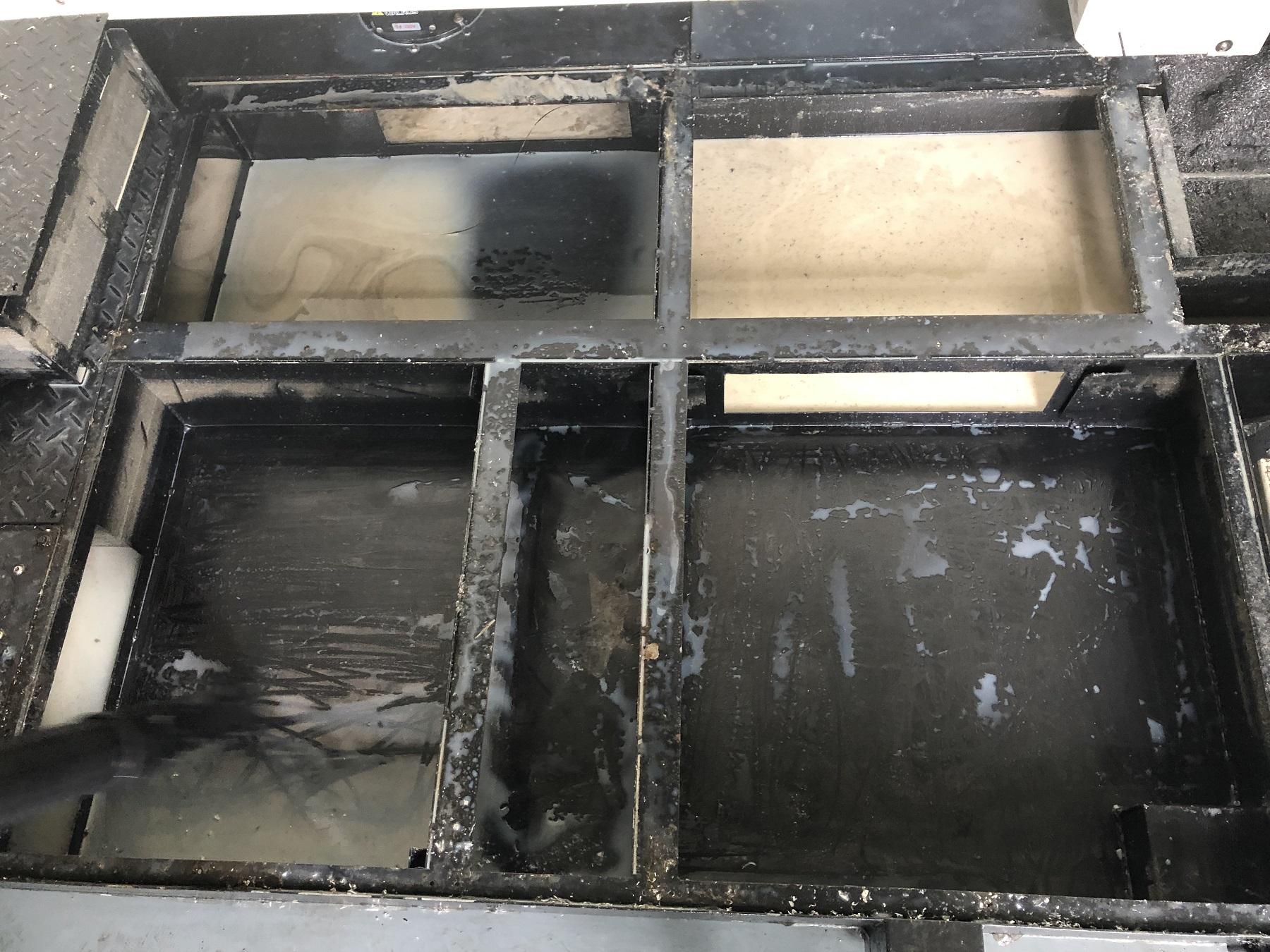 国内某飞机装备制造企业的机床液槽