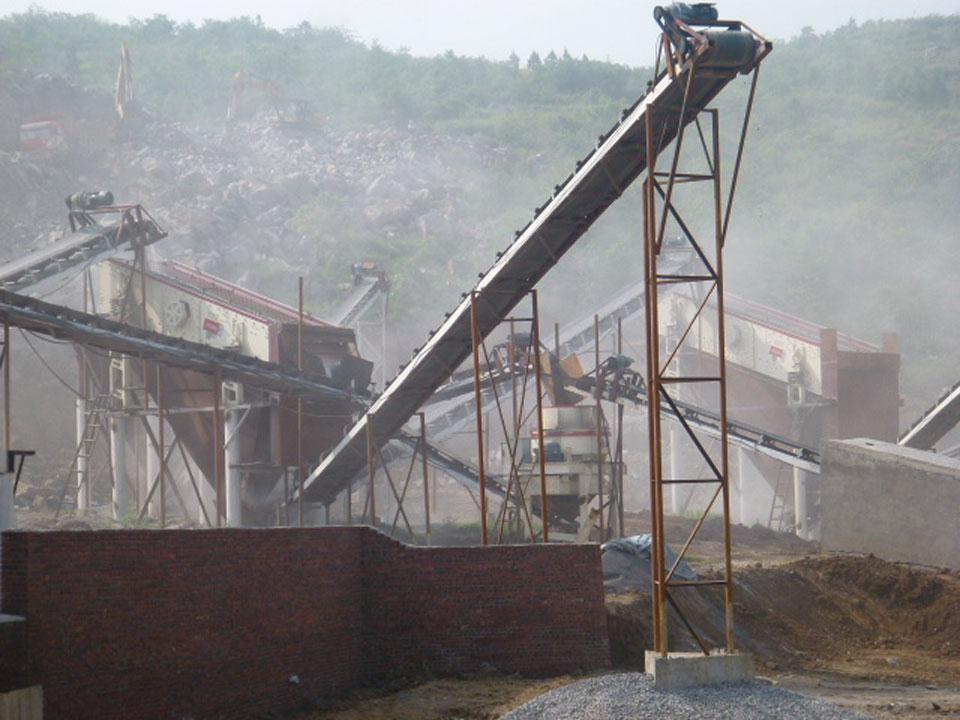 湖南邵阳-石灰石碎石生产线
