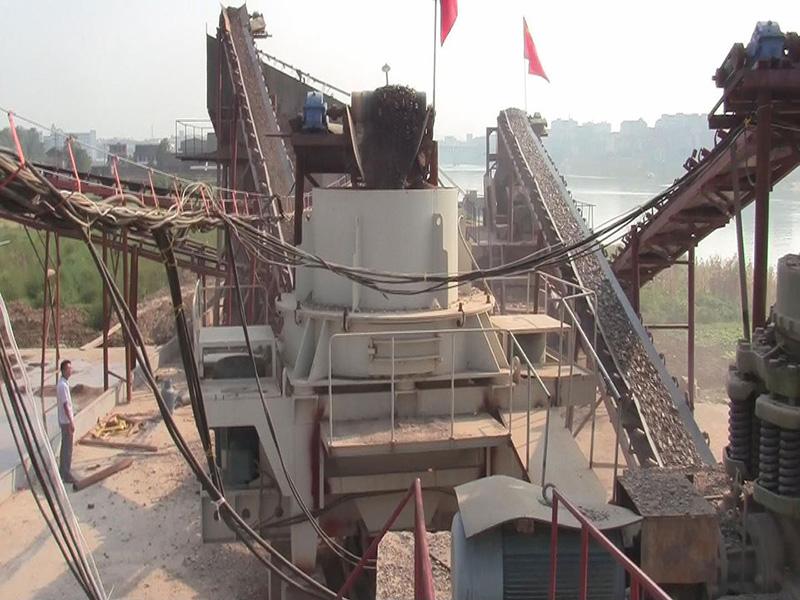 湖南娄底-河卵石机制砂生产线