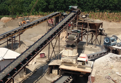 湖南郴州-河卵石机制砂生产线