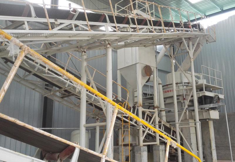 河南郑州-石灰石机制砂生产线