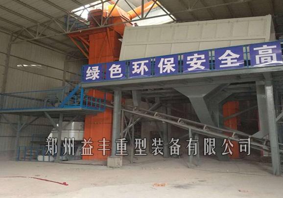 山东淄博环保型塔楼式制砂站