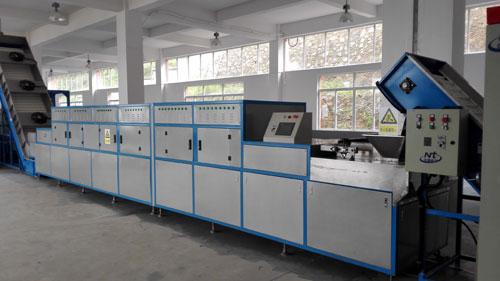 微波杀青机等新型茶叶加工生产设备