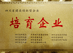 四川省建设创新型企业培育企业