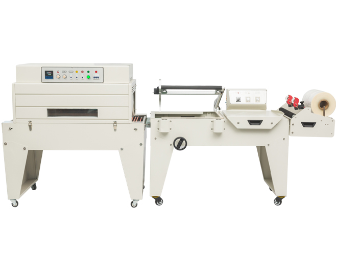 DFQA450半自动封切机+DSA4525高台热收缩包装机