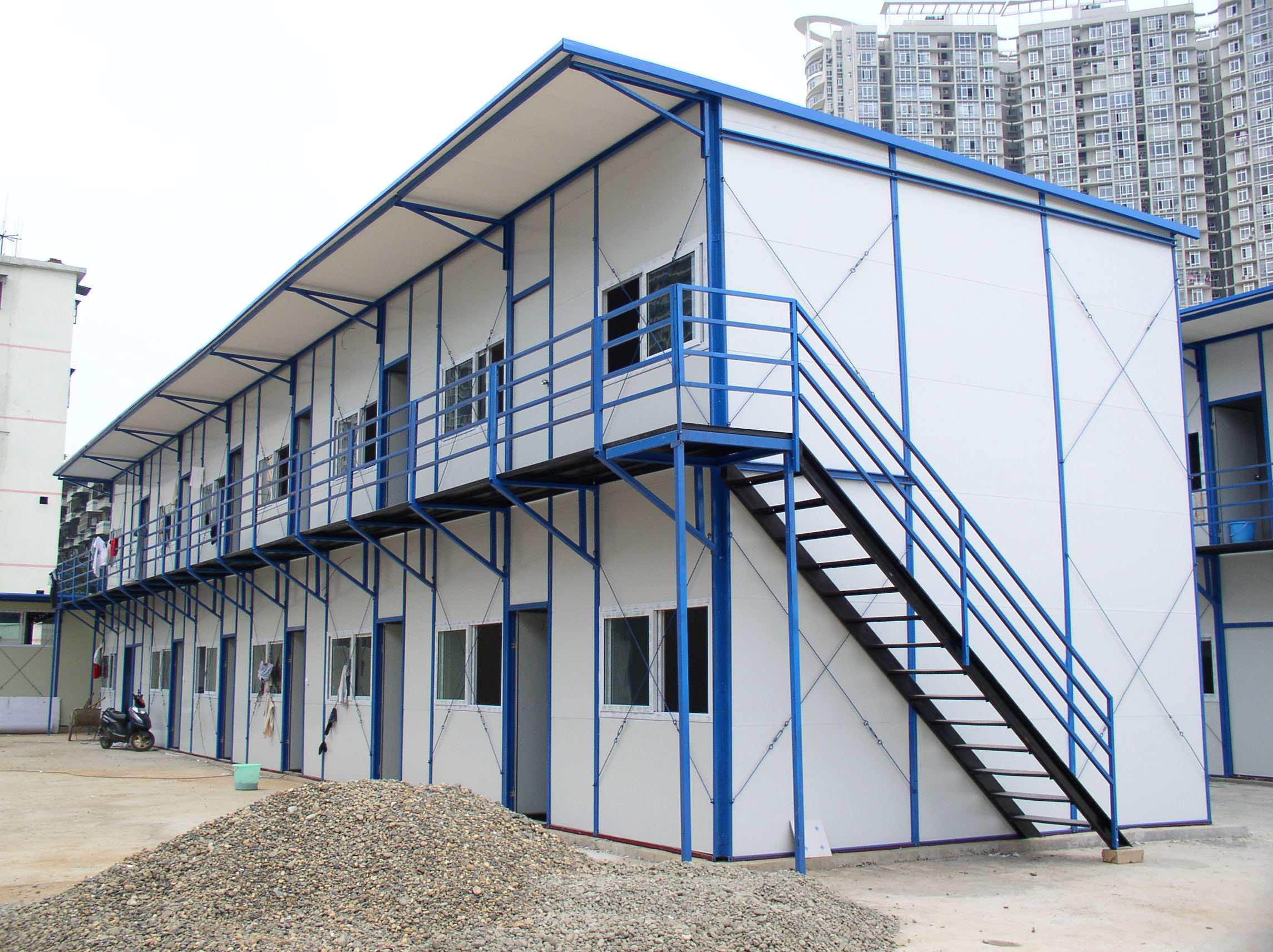 建筑工地移动板房