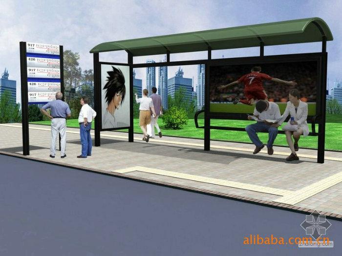 公交站台灯箱使用什么的玻璃要好些