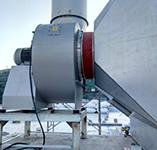 CREM某電子廠大型廢氣處理風機