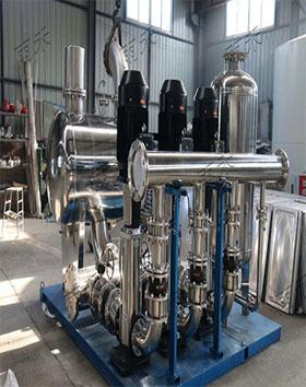 回用水变频供水泵组