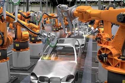 汽车焊接机器人