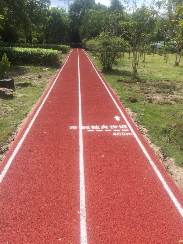 全龄段健身塑胶跑道,健康生活从这里出发
