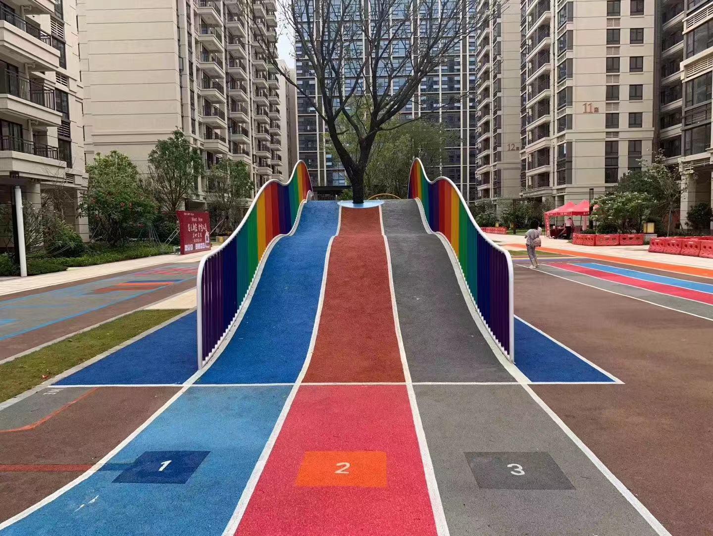 上海塑胶跑道厂家专业制造EPDM幼儿园塑胶跑道