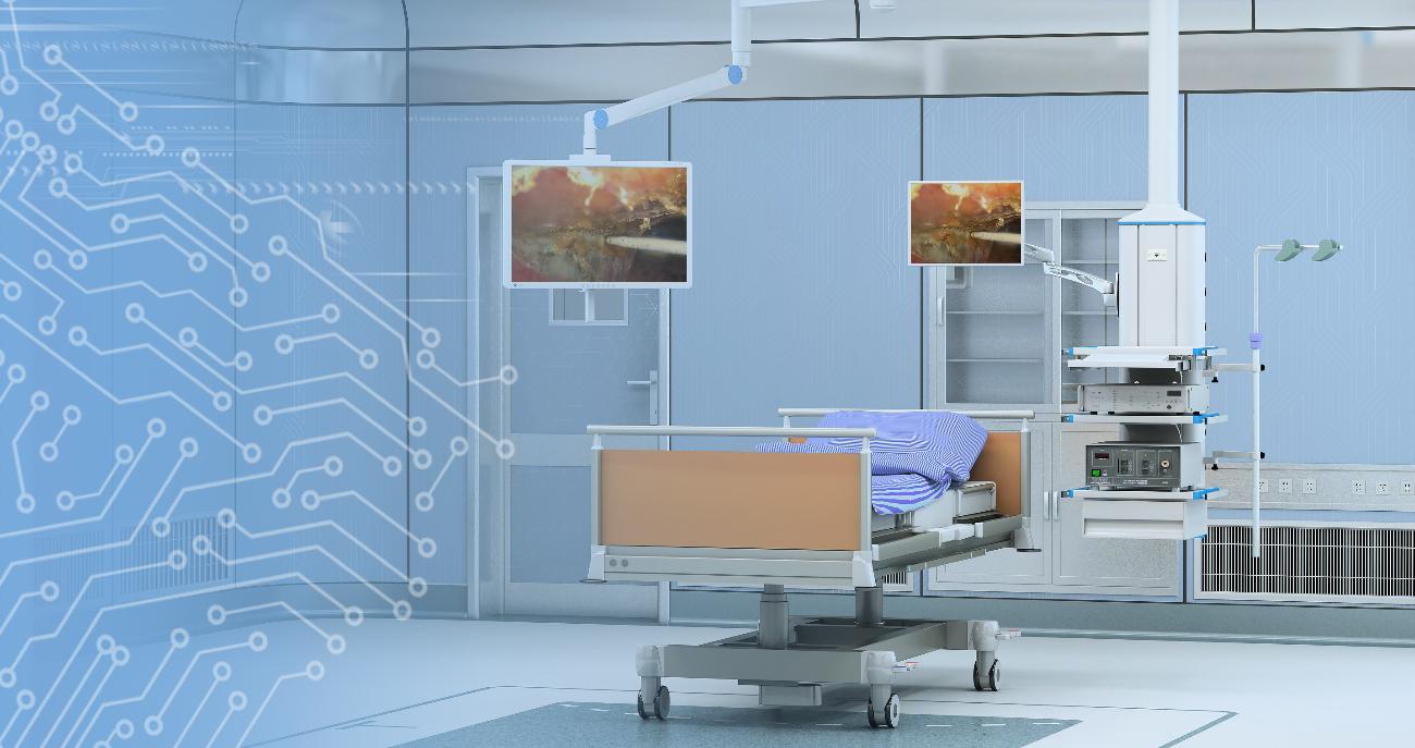 内镜中心承载与显示解决方案