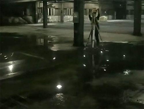 美地宝-林肯密封固化剂地坪施工现场
