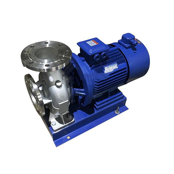 ISWH变频卧式不锈钢管道离心泵