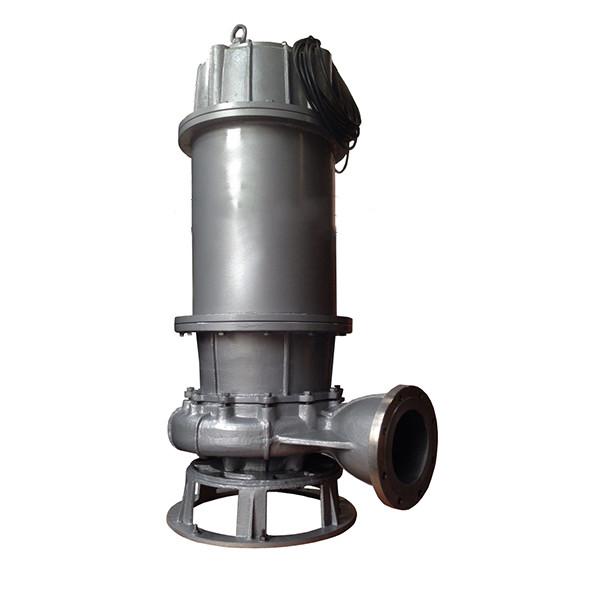 QW型大流量不锈钢移动式潜水排污泵