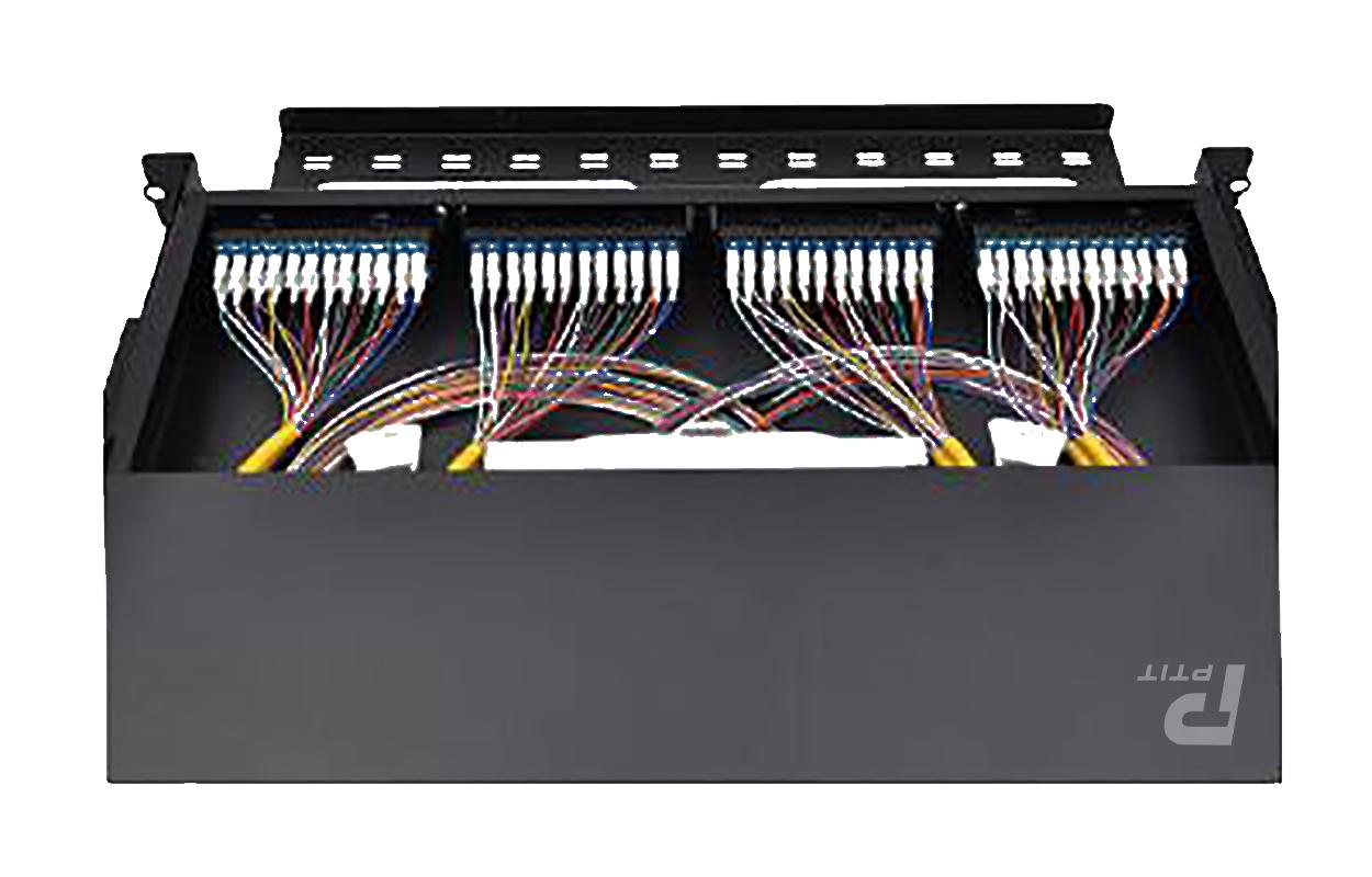 综合布线系统中配线架如何连接?