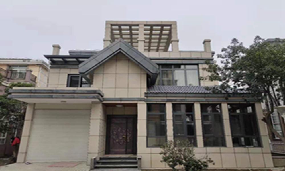 安庆私人别墅改造翻新,薄石材保温装饰一体化板