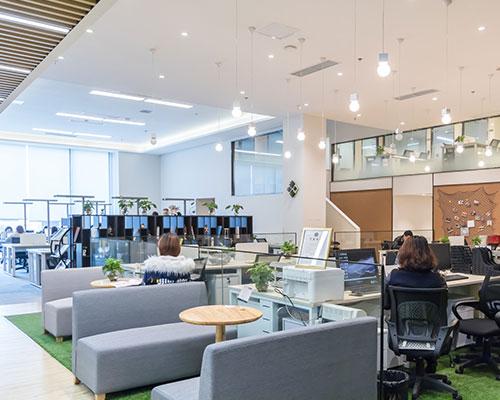 如何打造年轻化,生态式,更开放的时尚办公空间