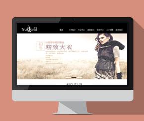 服饰行业网站模板