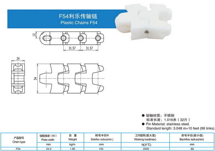 F54利乐传输链