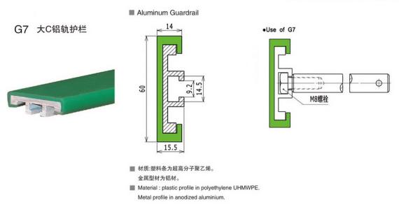 G7大C鋁軌護欄