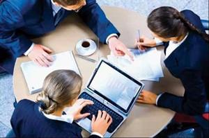 定方案,談商務,簽合同