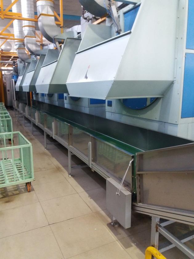 洗滌行業輸送設備配套方案
