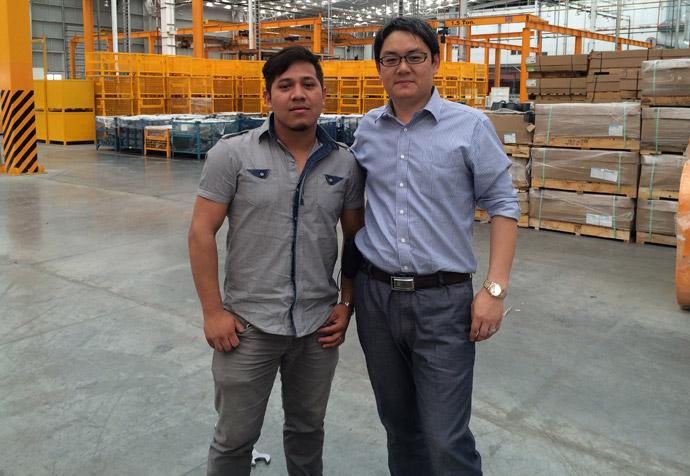 墨西哥某生产商与庞轩周总
