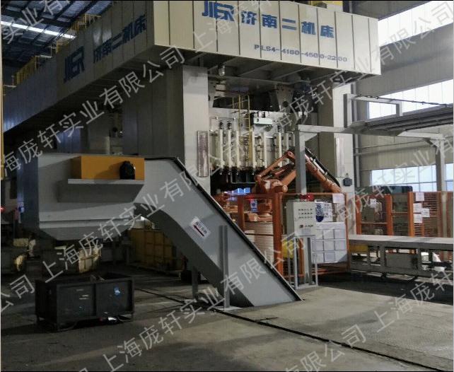 刮板式废料输送机