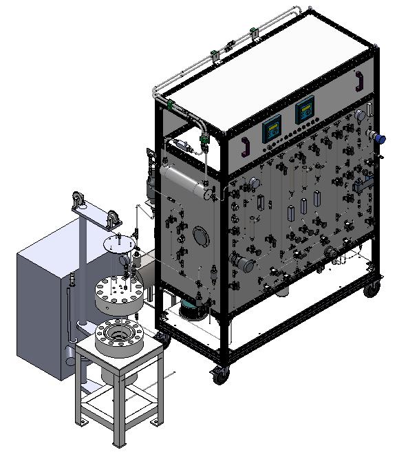 高温高压浸泡试验釜系统
