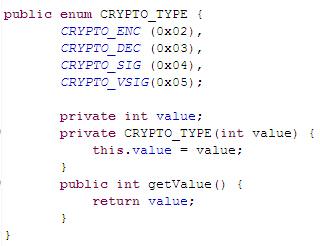 DX82的Java语言CRYTO_TYPE
