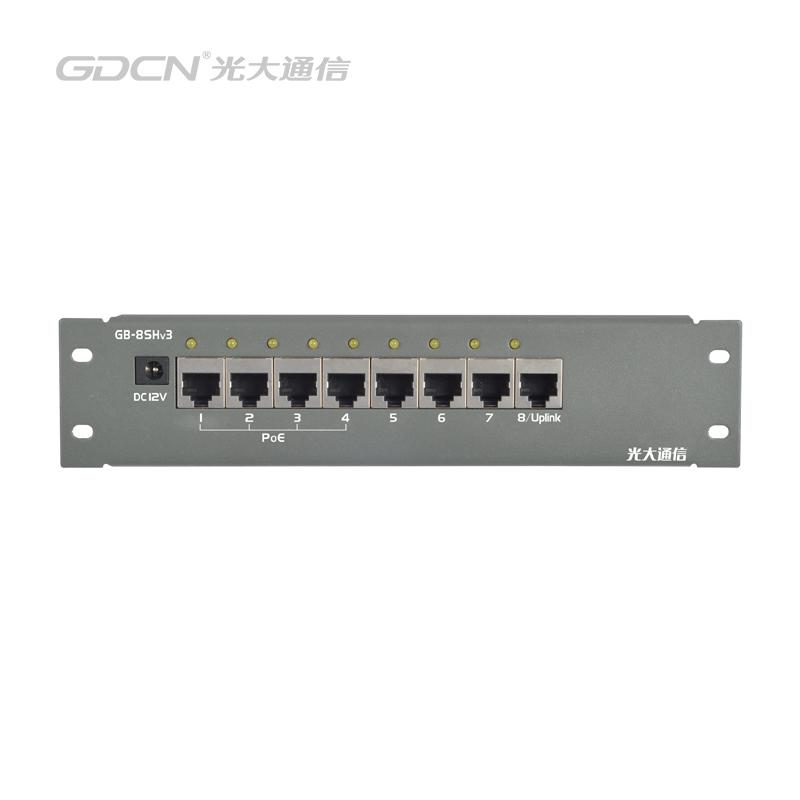 GB-8SHv3 POE交换机模块