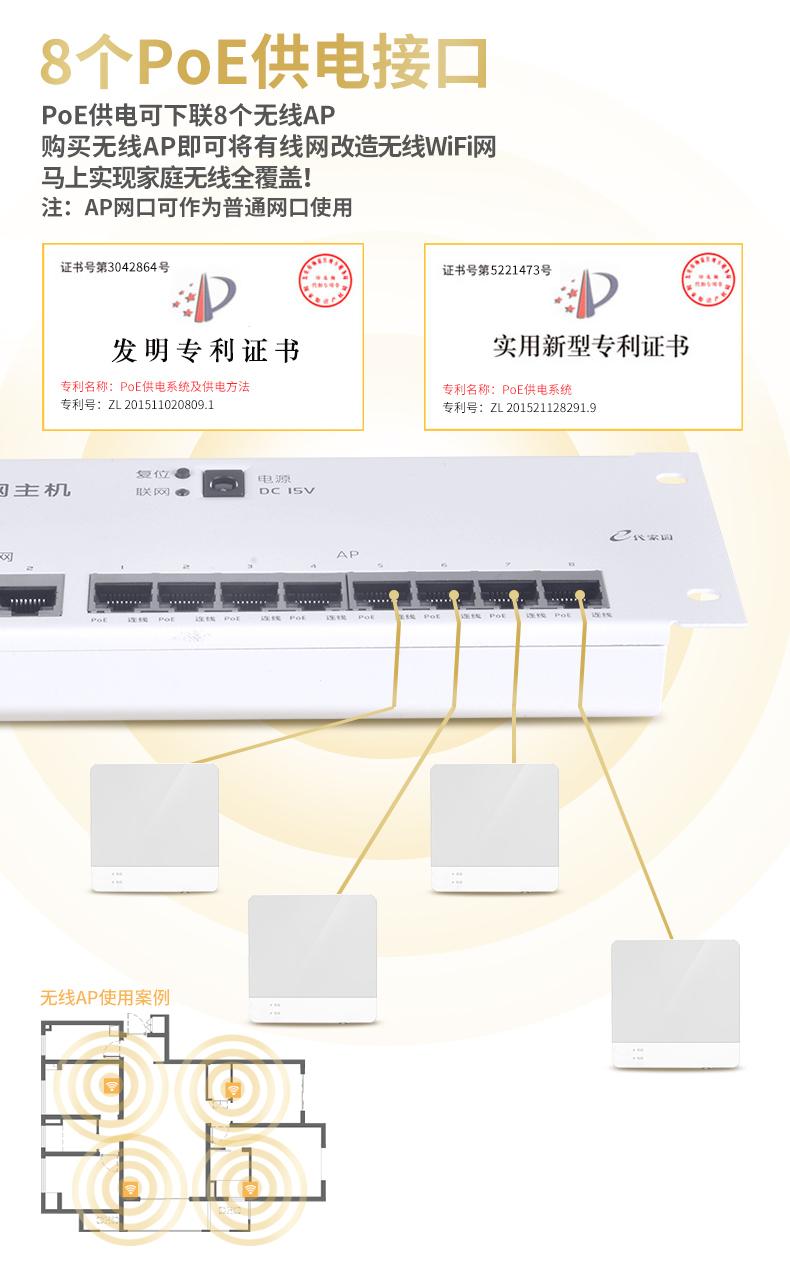 廠家批發15V路由器模塊 IT-KR810設備