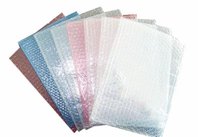 彩色方形气泡袋