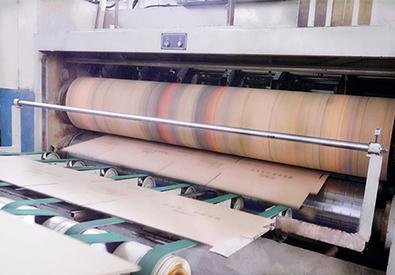 水印印刷机纸箱成型第一步